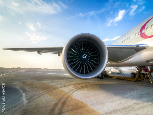 Aircraft Jet Engine