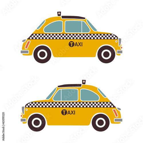 cinquecento as yellow cab