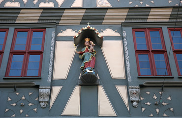 Madonna with child Jesus, Miltenberg, Germany