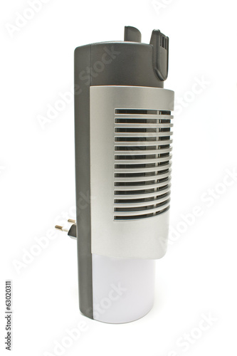 Electric air humidifier isolated on white