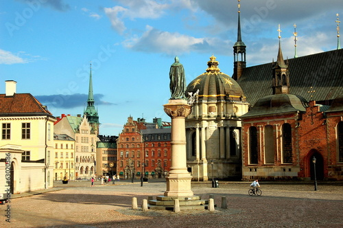 stockholm - old square, royal palace