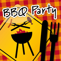 Barbecue Party, invitation