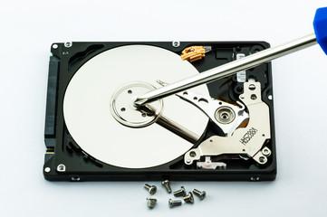 Hard disk repair concept