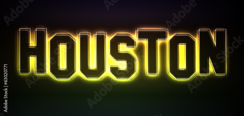 Houston Neon Light