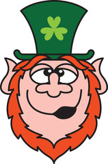 Drunk St Paddy's Day Leprechaun