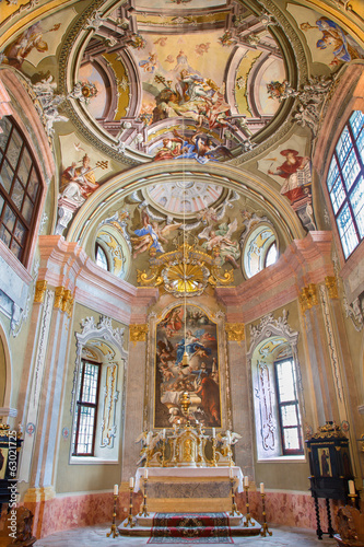 Baroque chapel of Saint Anton palace