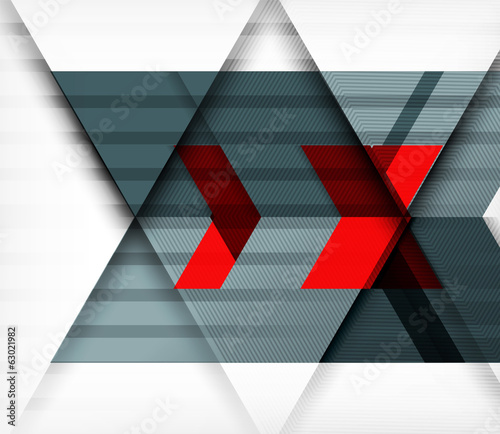 Grey tech vector background