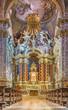 Venice - baroque church Santa Maria degli Scalzi.