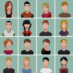 teenager avatars
