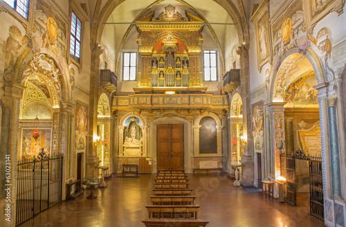 Bologna - baroque church San Michele in Bosco