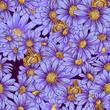 Summer seamless floral pattern