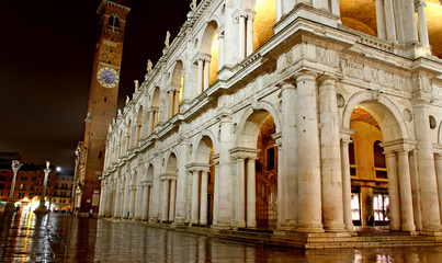 wonderful Basilica PAlladiana work of architect Andrea Palladio