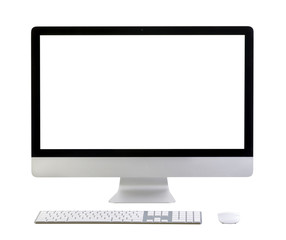 Illustration of modern computer monitor