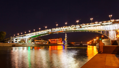 Moskva River and bridge