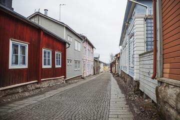 Street in Porvoo, Finland
