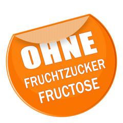 label - ohne fruchtzucker fructose - g712