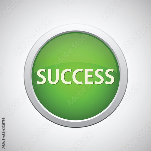 Success button green start