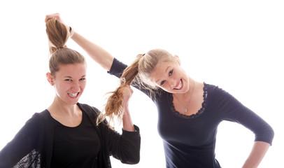Haare ziehen