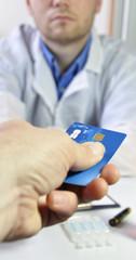 Payer une consultation médicale