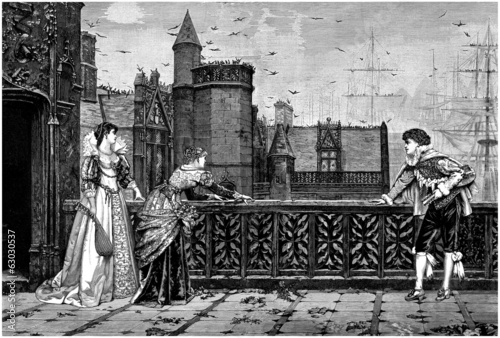 Castle Balcony - Renaissance - 16th century
