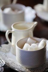 Coffee break - sugar and milk