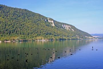 Lake Nantua, France