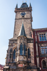 Astronomical Clock in the Old Town Square, Prague, Czech Republi