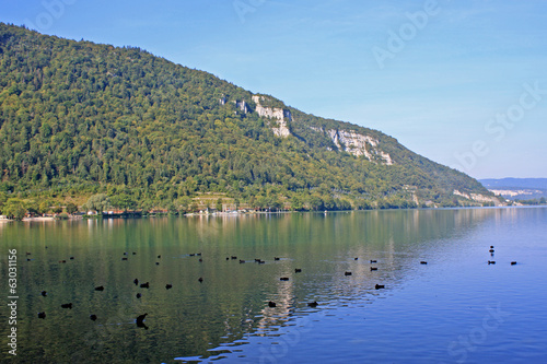 Lake Nantua, France