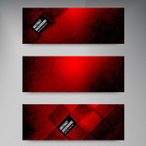 Fototapety Vector banners and squares. Color set