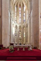 Batalha Monastery. Altar and  Apse of the Church