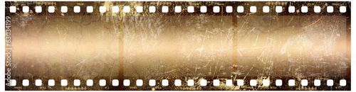 Grunge Film Frame 3x - 63034199