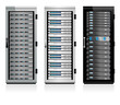 Three Servers - Server in Cabinets - 63035127