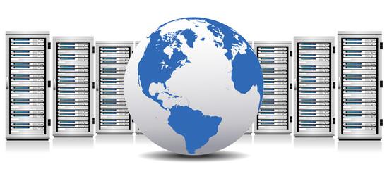 Server - Network Cloud Servers with Globe