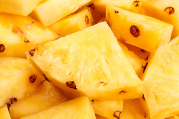 pineapple chunks