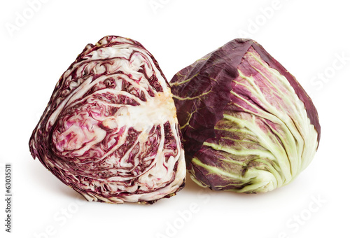 radicchio isolated