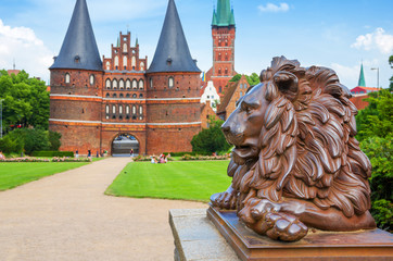 Lion. Lubeck, Germany