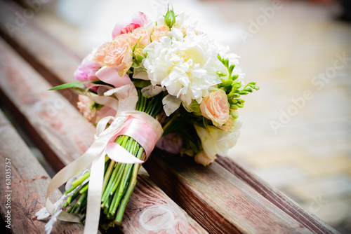 Deurstickers Bloemen wedding flowers