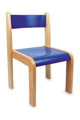 Stuhl, blau