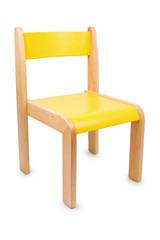 Stuhl, gelb
