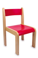 Stuhl, rot