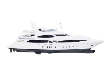 model of a motor  boat