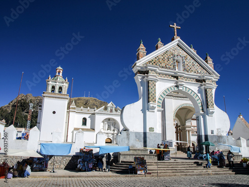 Catholic church in Copacabana