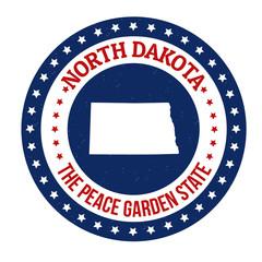 North Dakota stamp