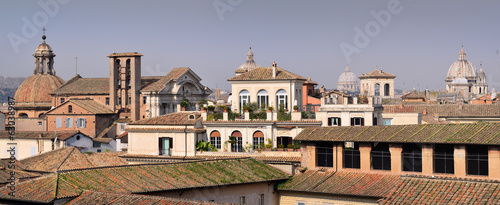 View over the roofs of Rome
