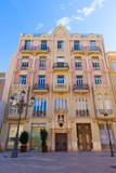 Valencia Plaza Almoina Punt de Ganxo modernist Spain poster