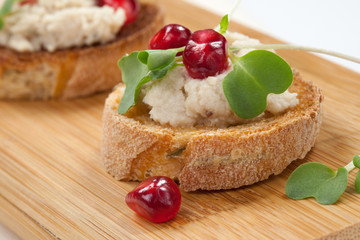 Savory Tuna Salad Crostini