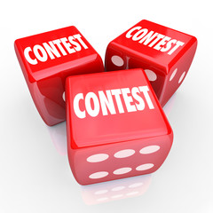 Contest Dice Word Roll Gamble Play to Win