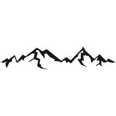 Hohe Schöne Berge Mit Schatten