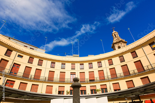 Valencia Plaza Redonda is a round square in Spain