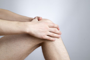 Knee pain in men